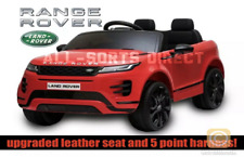 LICENSED RED 2020 RANGE ROVER EVOQUE 12V ELECTRIC KIDS CHILDS RIDE ON JEEP CAR