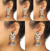 Indian Earrings Bollywood Fashion Jhumka Jhumki Wedding Women Jewelry