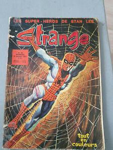 Comics BD Strange T25 Stan Lee LUG
