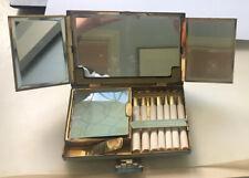 Vintage  Compact, lipstick holder, cigarette case  & mirror
