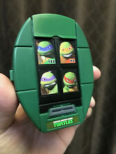 TMNT Shell Cell - 4 Inch Tall, Plastic, Talks, Ninja Turtles Logo (2012) Mobile