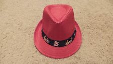 St Louis Cardinals Red Fedora SGA 8/5/2016 with ticket