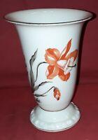 Alte Vase mit Blumendekor, Heinrich & Co, Selb, Bavaria