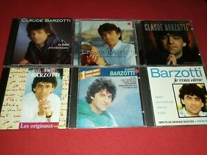 Lot de 6 CD de Claude BARZOTTI