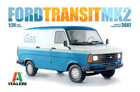 Ford Transit MK2 Ford Transit Van Mark 2 1:24 Scale Plastic Model Kit By Italeri