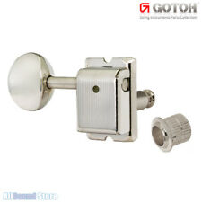 GOTOH SD91-MG LEFT HANDED Magnum Lock 6-in-line LOCKING Vintage Tuners - NICKEL