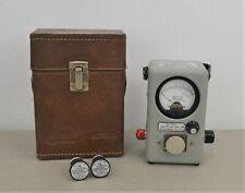 Bird Model 4410A Thruline Wattmeter w/ Multi-Range Plugin Elements & Case