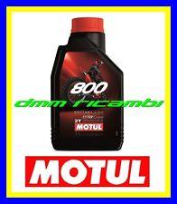 1 Litro Olio Miscela 2T MOTUL 800 FACTORY LINE OFF ROAD RACING Sintetico 8002T