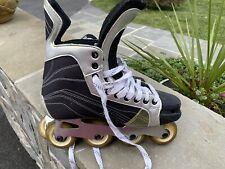 New listing Bauer 20-90 20 90 Mega inline skates rollerhockey roller hockey SIZE BAUER 9
