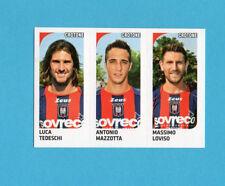 PANINI CALCIATORI 2011-2012-Figurina n.522- TEDESCHI+MAZZOTTA+LOVISO-CROTONE-NEW