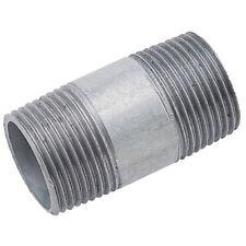 """Barrel Nipples - 1/8"""" BSPT x 80 mm Barrel Nipple Galv 11-01327"""