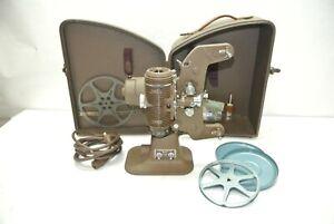 Vintage Bell & Howell Filmo Regent 8mm Movie Projector Design 122L - Bad motor