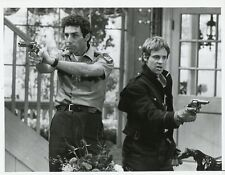 DANA CARVEY MICHAEL RICHARDS AIM GUNS SLICKERS ORIGINAL 1987 NBC TV PHOTO