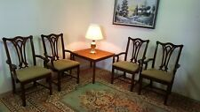 6 Cherry Wood Kimball Office Reception Conference Chair Set
