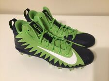 Nike Alpha Menace Pro Mid Td Pf Mens Football Cleats Seahawks 915414 429 Size 12