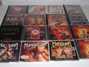 MANOWAR - Heavy Metal Paket mit 16 x CD Alben !