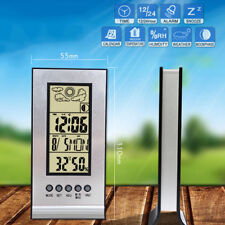 Wireless Weather Station Alarm Clock Thermometer Hygrometer Humidity Meter