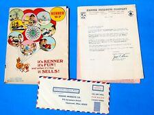 1967 KENNER DEALER TOY CATALOG  Marvel Super Heroes Spiderman Batman Marvelmania