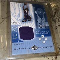 2001 UD Ultimate Collection Game Jersey #KB Kobe Bryant /250 HOF 🐍🔥