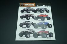 HPI Body Shells poster brochure catalog catalogue 2011 OZRC JL