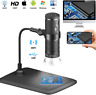 1000X Wireless Digital Microscope HD 1080p USB wifi 8 LED for PC IOS Android Mac