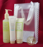 Mary Kay Satin Hands Softener Scrub Peeling Cream White Tea and Citrus Set FULL!