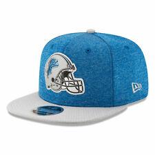 Detroit Lions NFL THE HELMET LOGO 9Fifty Snapback Hat - Light Blue/Gray
