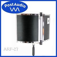 Post Audio ARF-27 V.3 Folding Portable Vocal Booth & Reflexion Filter Free Ship