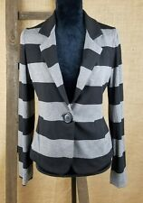 BAILEY 44 women S collared cardigan jacket blazer striped long sleeve