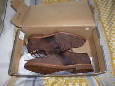 Para hombre Timberland Brooklyn Parque A19H4 Marrón Cuero Brogue Zapatos Talla 6.5.New. 70 EUR