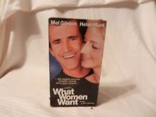 What Women Want (VHS, 2001, Special Edition- Spanish Subtitled) Mel Gibson