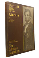Francis Trevelyan Miller PORTRAIT LIFE OF LINCOLN  1st Edition 1st Printing