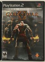 God of War ll 2 Sony PlayStation 2 PS2 Game Black Label