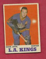 1970-71 OPC # 39 KINGS EDDIE JOYAL GOOD CARD