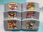 Super Mario Kart 64 Mario Party1 2 3 Game Card Cartridges For Nintendo 64 N64 US