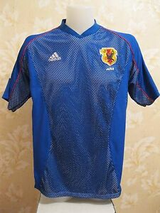 Japan national team 2002/2003/2004 Home Size XL Adidas shirt jersey Nakata era