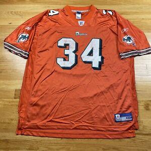 Reebok NFL Miami Dolphins R Williams #34 Football Jersey 2XL
