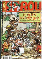 A15- Spirou N°3334 la saga Africa de la petite Lucie