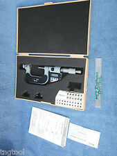 Thread Micrometer Mitutoyo 326 712 10 With 12 Anvils 1 2 Over 1000 New Machinist