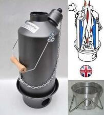 1.5ltr Hard Anodised Ghillie Camping Kettle, FREE UK P+P! (Our ref 19)