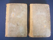 Carey, Lea & Carey The Life of Napolean Buonaparte in 3 volumes Vol 2 & 3 1829