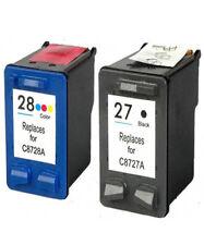 Non-OEM Use For HP 27 28 Deskjet 3450 3520 3535 Ink Cartridges
