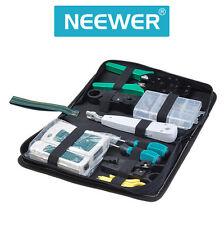 Internet Network Cable Tester Wire Crimp LAN RJ45 RJ11 CAT5 Analyzer Tool Kit