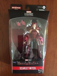 HASBRO Marvel Legends Disney+ SCARLET WITCH Figure Wandavision  Used No BAF