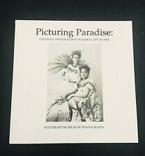 Picturing Paradise: Colonial Photography of Samoa, 1875-1925 - PB - 1995