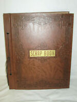 VTG Thick 1930s SCRAPBOOK NURSING NURSE HOTEL STATIONERY TRAVEL