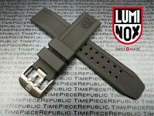 LUMINOX 23mm Rubber Strap EVO Diver Watch Band XV 3050 3950 Colormark Navy Seal