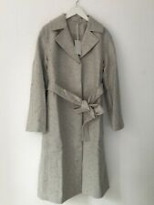 Cos -- Belted Grey Speckled Coat - Wool - New with tag - Size 14 - Ladies