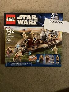 Lego 7929 Star Wars The Battle of Naboo New Retired Set 241pcs