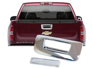 Chrome TailGate Handle Cover Covers Fit 2007-2013 Chevy Silverado / GMC Sierra